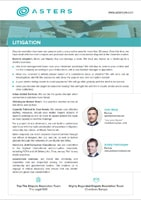 Asters Litigation Brochure