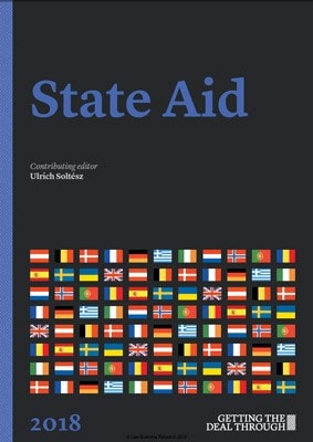 Getting the Deal Through: State Aid 2018. Ukraine