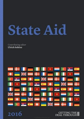 Getting the Deal Through: State Aid 2016. Ukraine