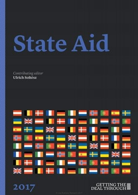 Getting the Deal Through: State Aid 2017. Ukraine